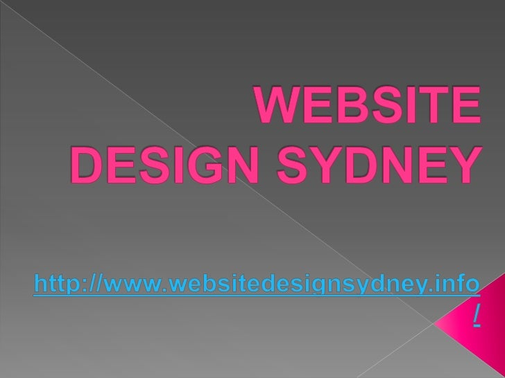 Website Design Sydney: The Various Elements That Make Up A Good Website And How Can Skilled Web Designers Help You With Th...