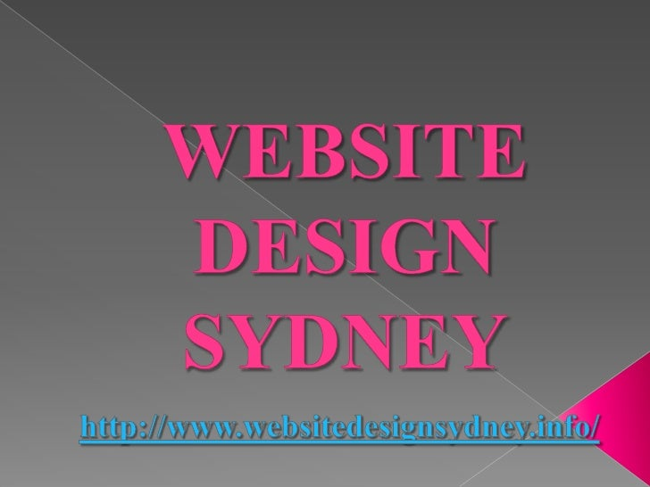 Website Design Sydney: What to Consider in   Generating Your       Website?