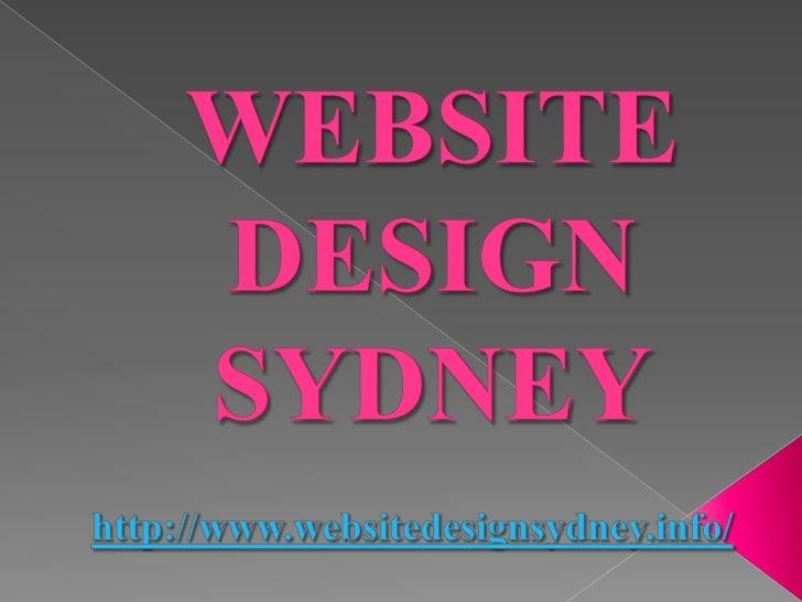 Website Design Sydney: Basis On Picking The Best Website Designer       In Sydney