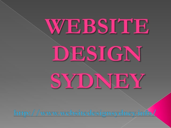 Website Design Sydney:    the components connected with a great      web design