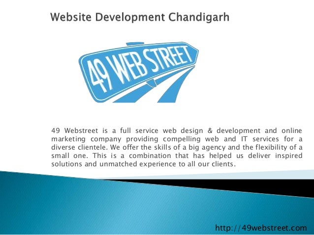 49 Webstreet is a full service web design & development and online marketing company providing compelling web and IT servi...