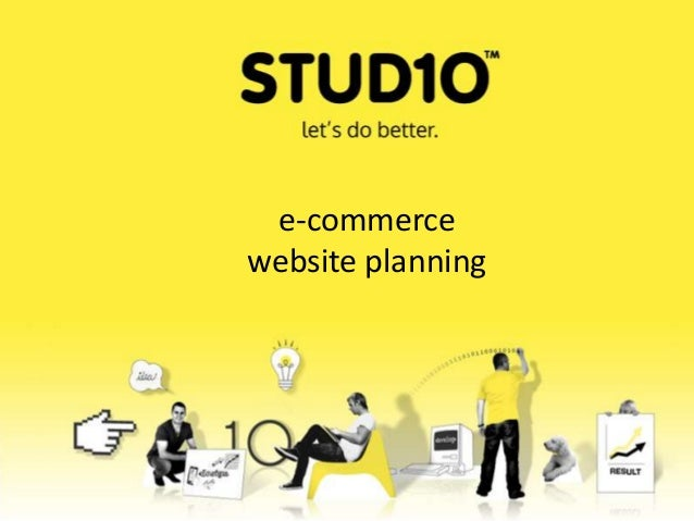 E-commerce website development process