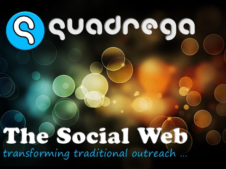 transforming traditional outreach …