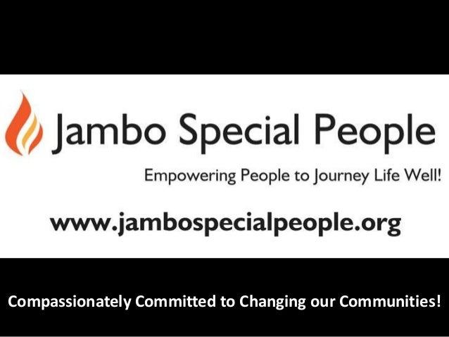 Compassionately Committed to Changing our Communities!