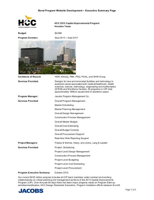 Summary website