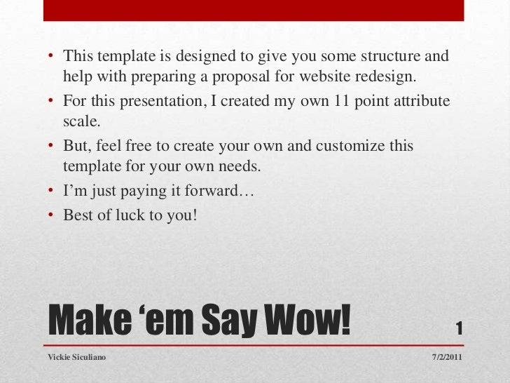 Make proposal