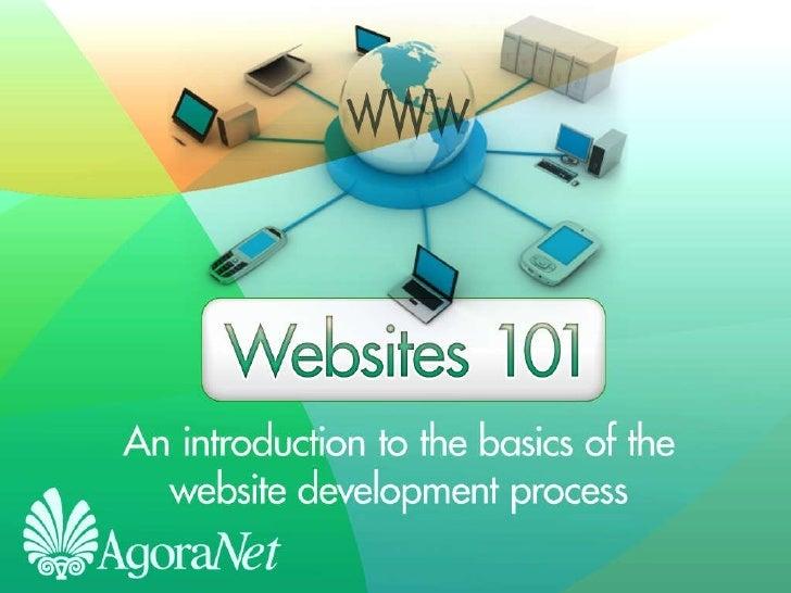 Websites 101 PowerPoint Presentation