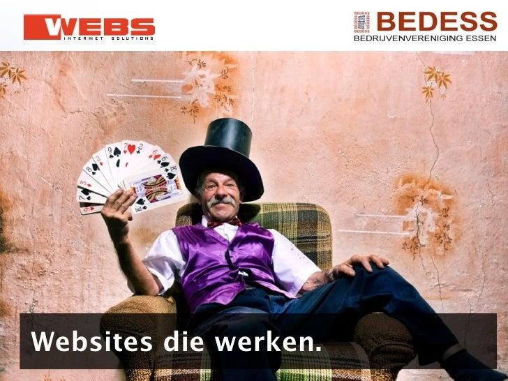 Websites die werken.
