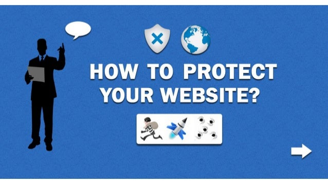Website security how to protect your website?