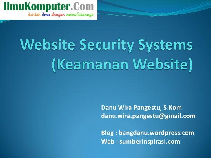 Website securitysystems