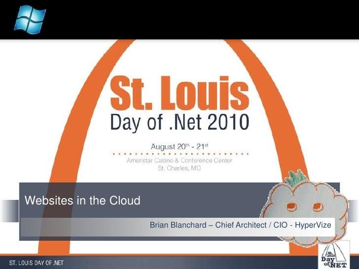 Websites in the cloud