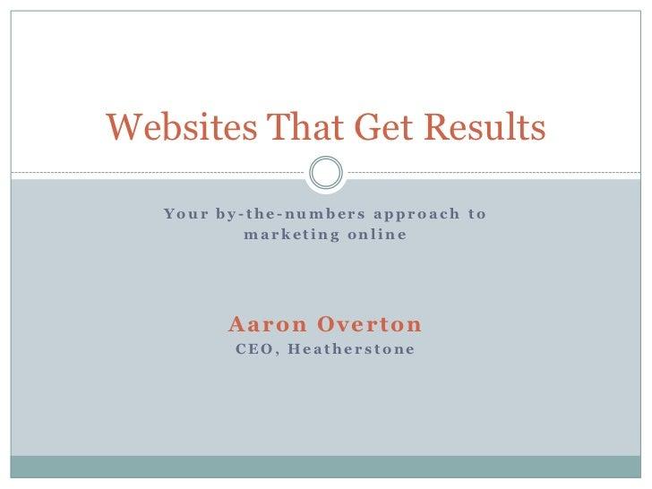 Websites that get results