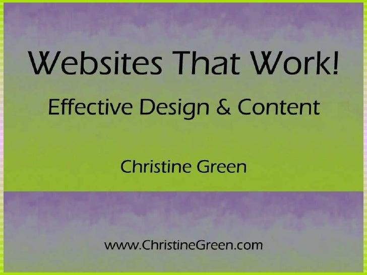 Websites That Work!