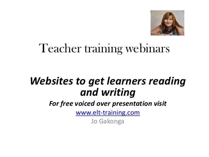 Websites to get your EL learners reading and writing