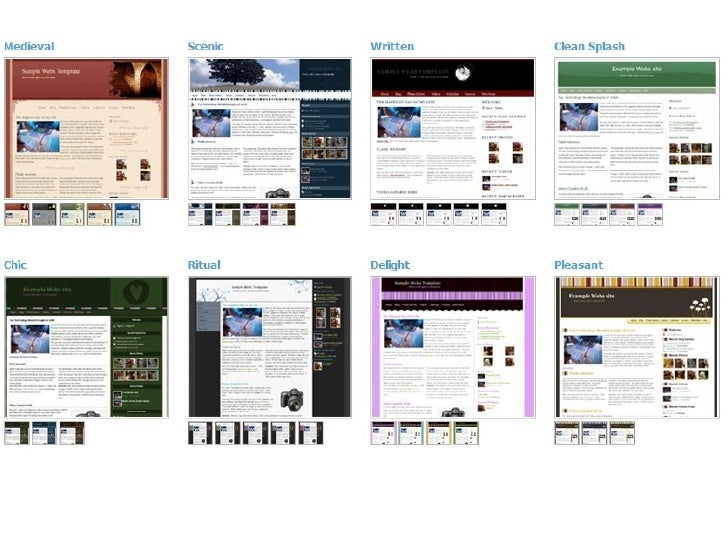 Website Templates Slideshow