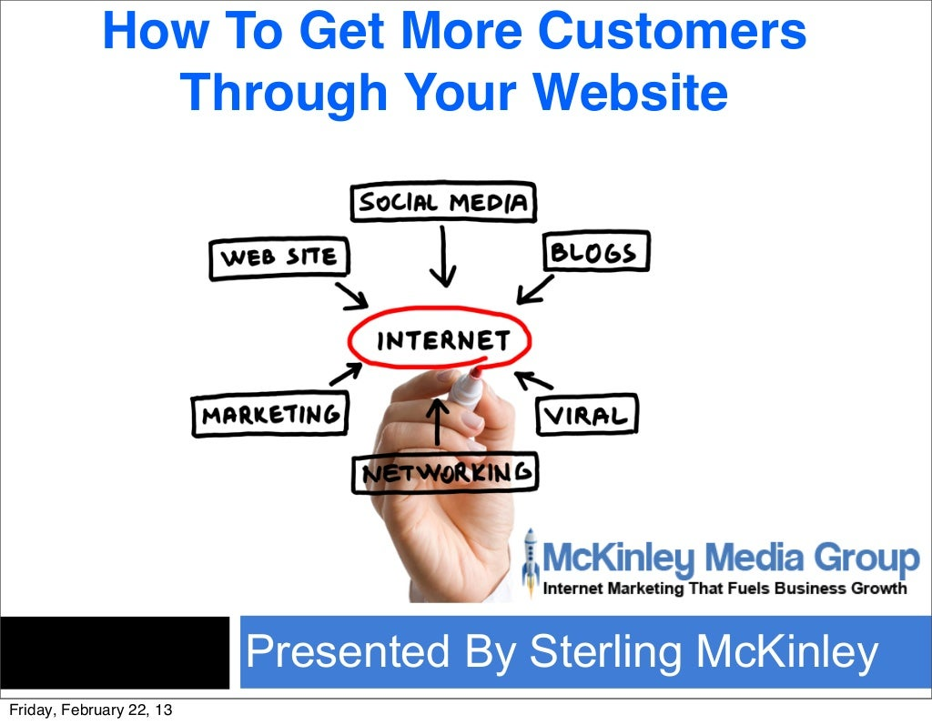 How to get more customers using your Website