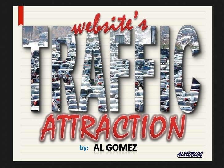 Website Traffic Attraction