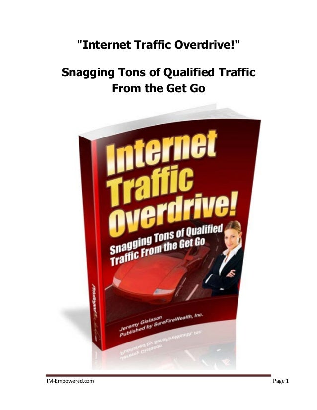 Website traffic overdrive