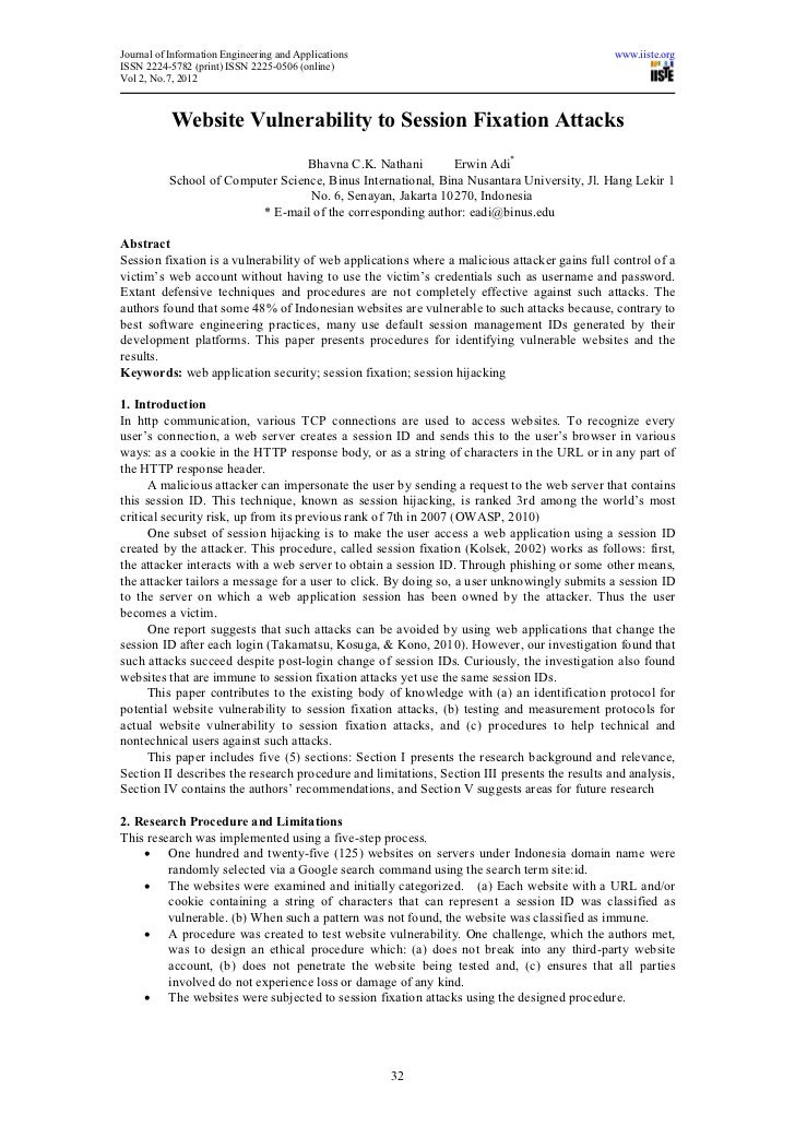 Journal of Information Engineering and Applications                                            www.iiste.orgISSN 2224-5782...