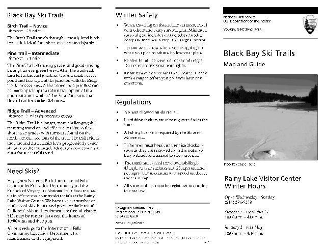 NostalgicOutdoors™- Voyageurs National Park- Black Bay Ski & Snowshoe Trails