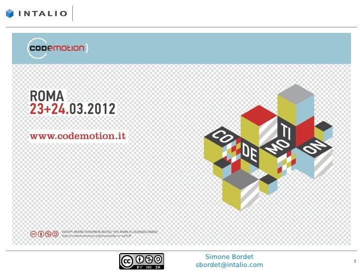 Realizzare applicazioni Web con WebSocket, by Simone Bordet