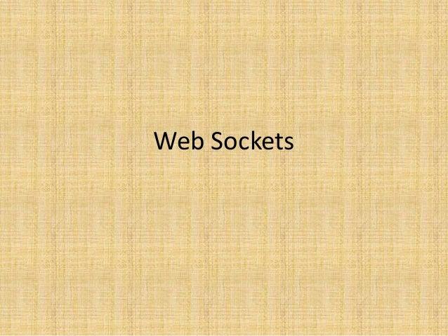 Web Sockets