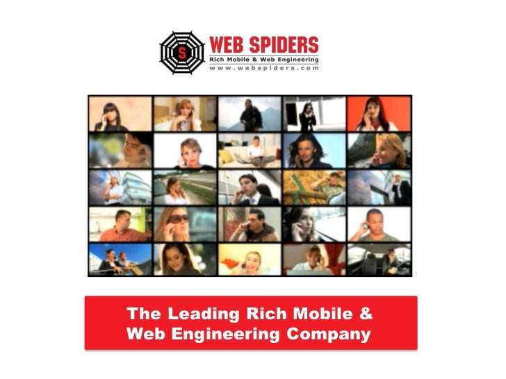 Websiders The leading Rich Mobile % Web engineering company