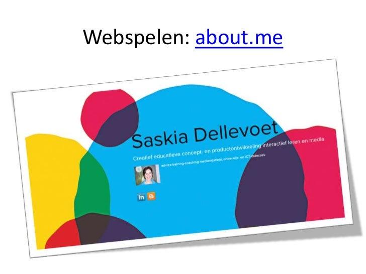 Webspelen- about.me