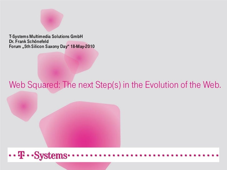 Web Squared: The next Step(s) in the Evolution of the Web.