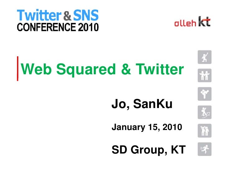 Web Squared &Twitter<br />Jo, SanKu<br />January 15, 2010<br />SD Group, KT<br />
