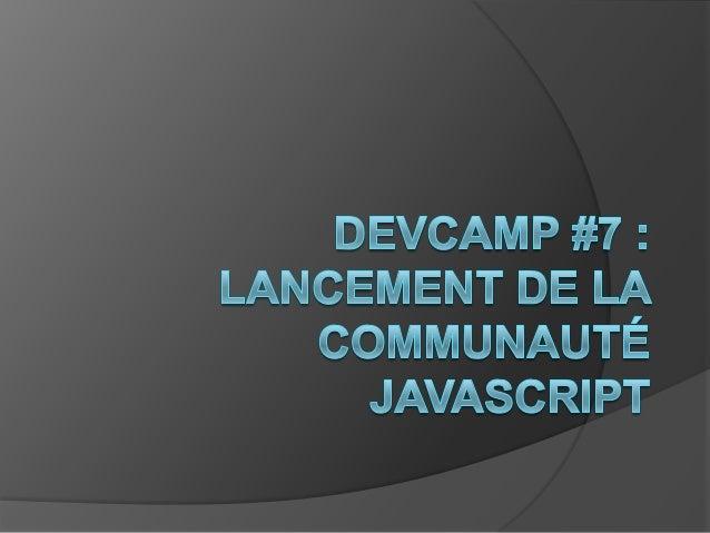 Devcamp #7