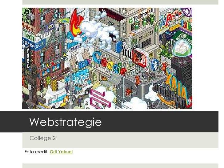 Webstrategie College 2