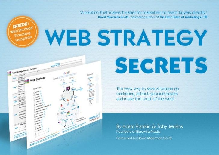Web Strategy Secrets