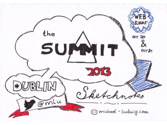 Dublin Web Summit 2013 Sketchnotes