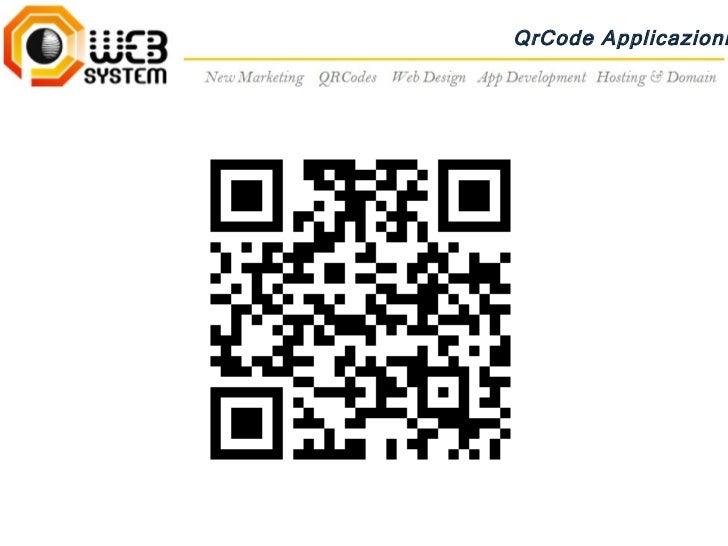 QrCode Applicazioni
