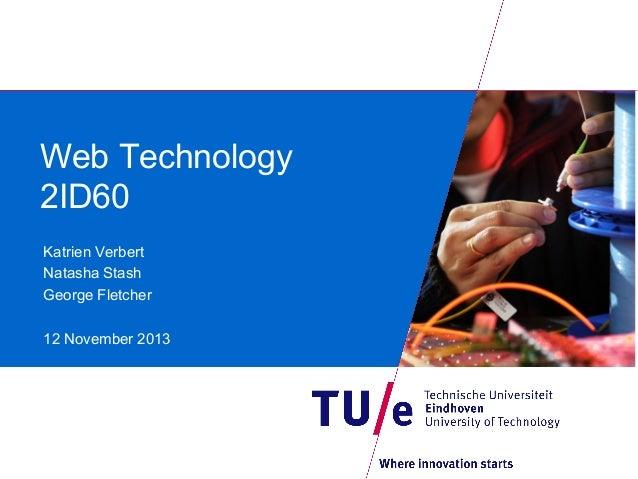 WebTech course introduction