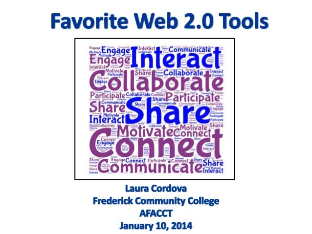 Web tools  -afacct 2014--4th version