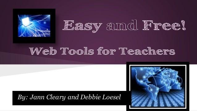 Web tools for teachers
