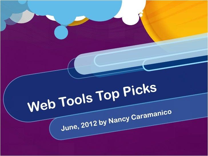 Web Tools Top Picks