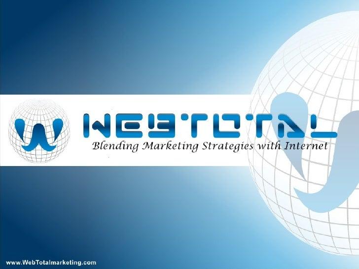 WebTotal - Introduction To Social Media