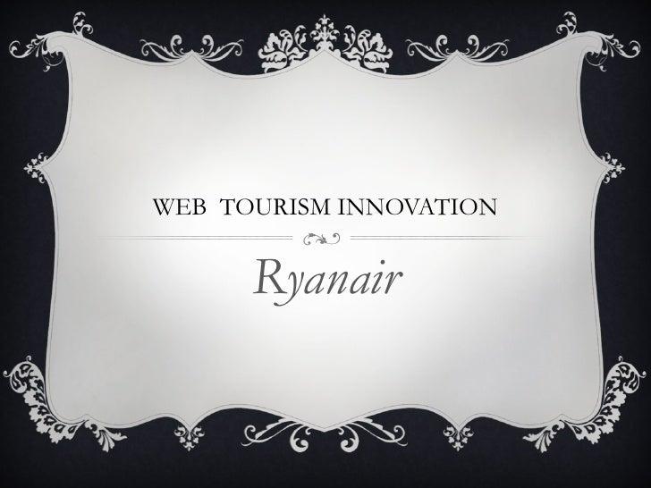 Web  tourism innovation