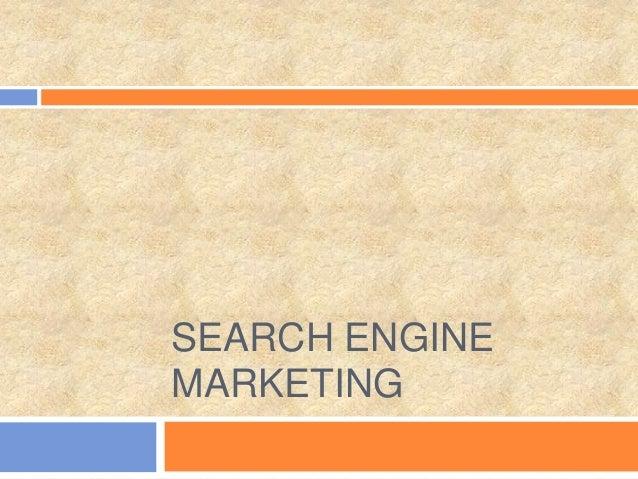 Increasing Web traffic through Search Engine Marketing