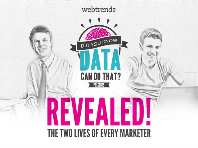 Revealed! The Two Lives of Every Marketer