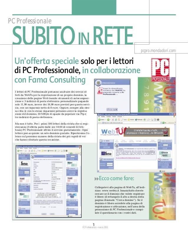 PC Professionale SUBITO IN RETE                                                                                           ...