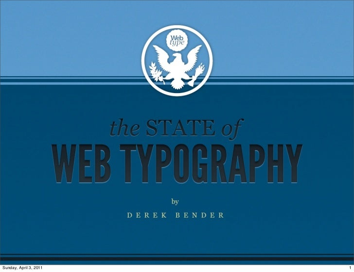 The State of Web Typography