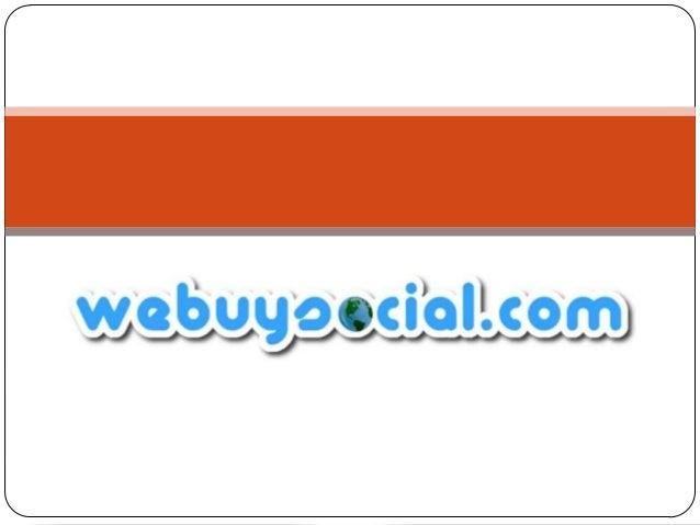 Webuysocial.com