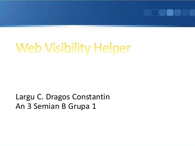 Web visibility helper
