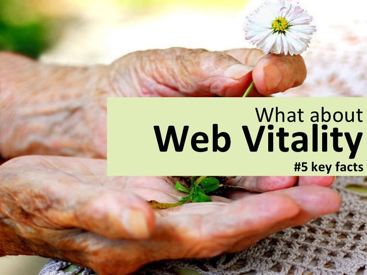 What about Webvitality ?