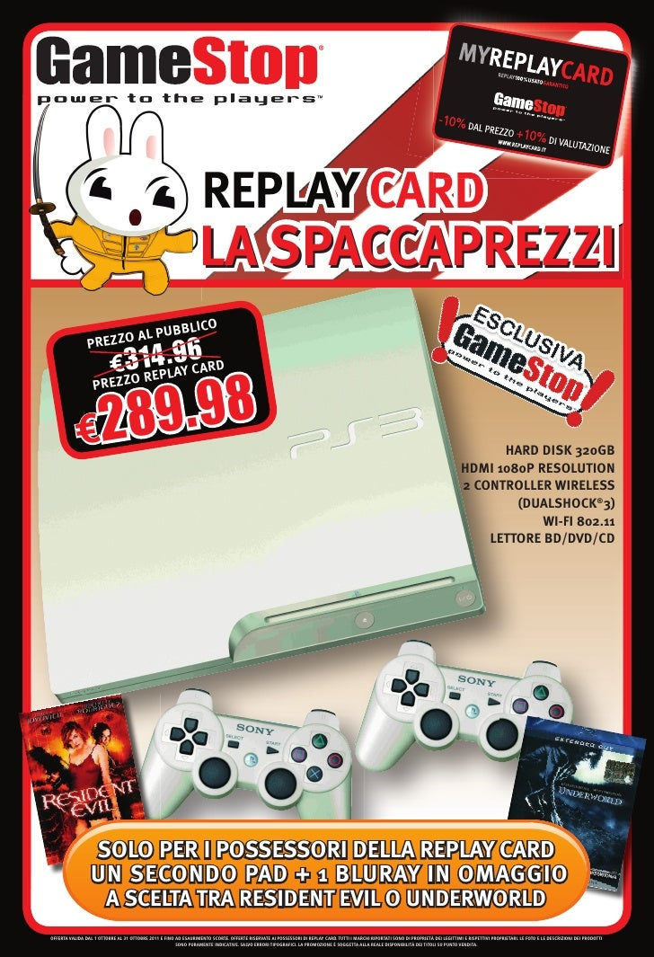 REPLAY CARD                                                                  LA SPACCAPREZZI                             U...