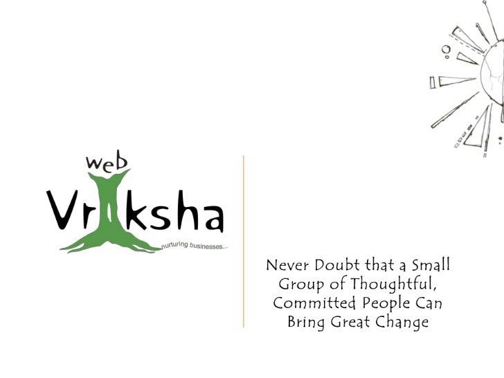 Webvriksha - Web Design Company in India